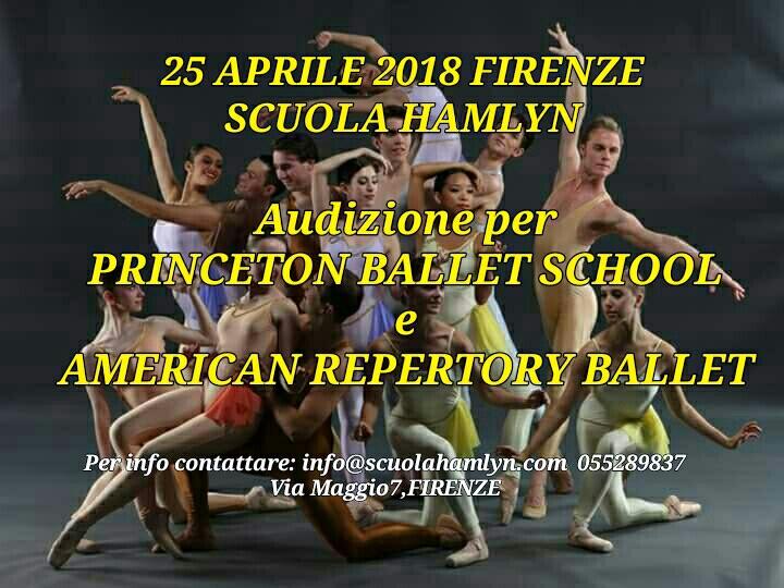 Princeton Ballet School-American Repertory Ballet
