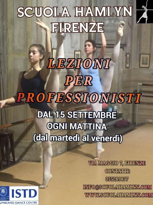 Lezione di danza Per professisti
